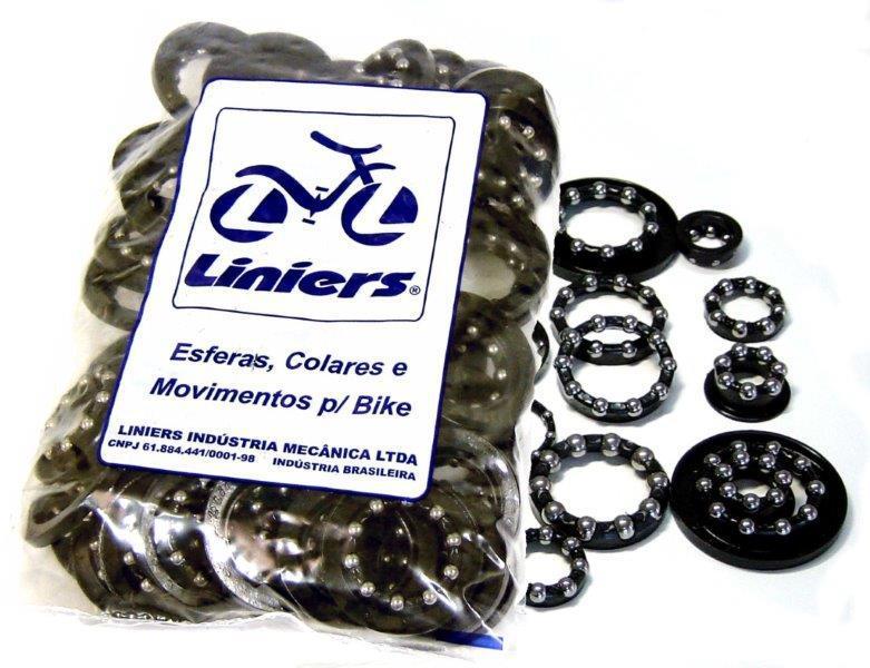 Colar de esferas para bicicletas