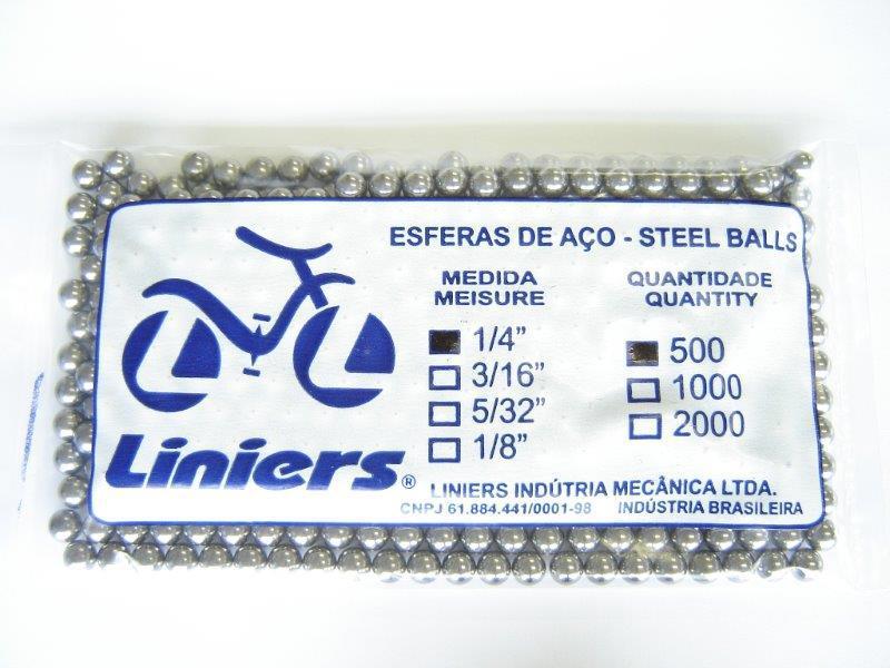 Esferas para bicicletas
