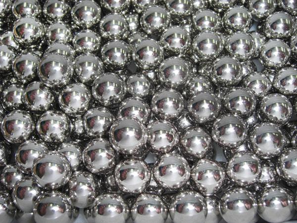 Esferas em Aço Cromo