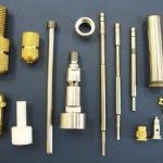 Usinagem de peças em latão